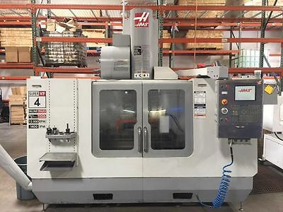 2006 Haas Super VF4 SS- NEW SPINDLE - SUPER CLEAN