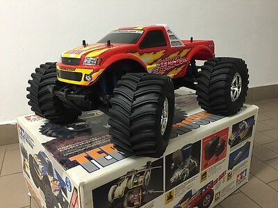 Tamiya 43502 Automodello Monster Truck 1/8 terra crusher rtr scoppio 1/8 RARA
