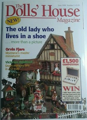 The Doll's House Magazine June 1998 Issue Number 3