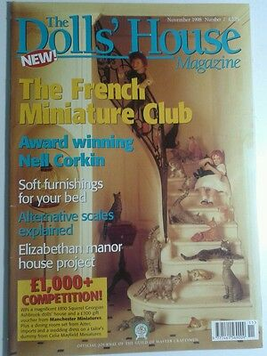 The Doll's House Magazine November 1998 Issue Number 7