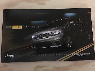 2018 JEEP GRAND CHEROKEE TRACKHAWK 16-page Original OVERSIZED Sales Brochure