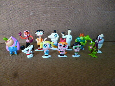 vintage Powerpuff Girls lot complete collection mini figure Promo Argentina