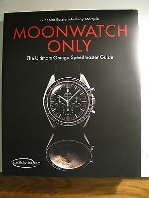 Omega Moonwatch Only Book - OMEGA GIFT VERSION - Very Rare & Highly Collectable