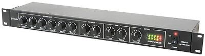 Adastra 953.026 6 Switchable Mic or Line Inputs ML622 1U Mic/Line Rack Mixer