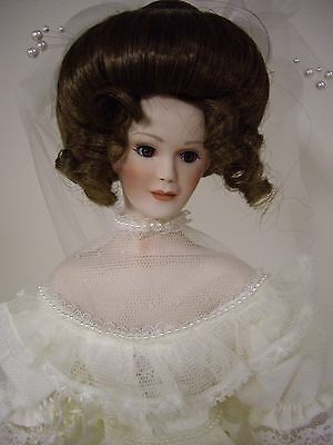 "Paradise Galleries , 16 1/2"" Inch Bride Doll"