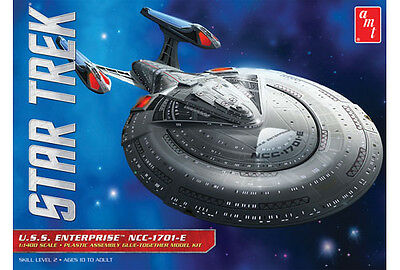 AMT 853 Star Trek USS Enterprise 'E' 1/1400 Scale Plastic Model Kit