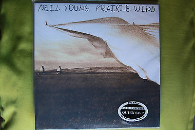 2LP AUDIOPHILE Classic Records 200g Quiex SV-P NEIL YOUNG - PRAIRIE WIND  sealed