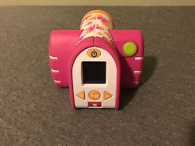 Fisher Price Video Camera Kid Tough Pink Girls Camcorder Used Tested Works!