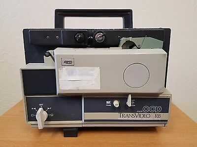 Elmo TRV R8 Regular 8mm Film Transfer Machine - RCA outputs for Computer