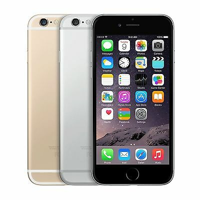 Apple iPhone 6 (AT&T/T-mobile) SmartPhone Gold Silver Space Gray 16GB 64GB 128GB