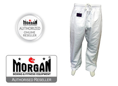 MARTIAL ARTS YAMASAKI Gi PANTS 10oz KARATE JUDO TAEKWONDO MMA 0001234567 WHITE