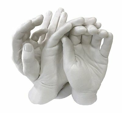 Family Hands Casting Kit By Vesey Gallery 1kg of Alginate & 4kg of Stone Plaster