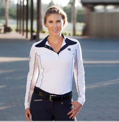 NEW Romfh Ladies Competitor Show Shirt Long Sleeve - Many Colors! - XS, S, M, L