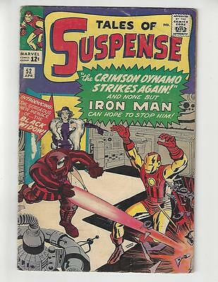 Tales of Suspense #52/Silver Age Marvel Comic Book/1st Black Widow/VG-