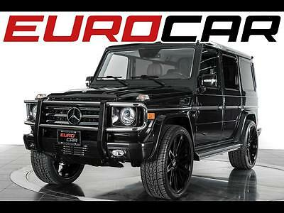 2011 Mercedes-Benz G-Class G 550 2011 Mercedes-Benz G 550 - Impeccable Condition, Stunning Brown Leather Interior