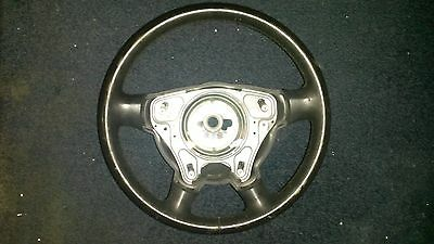 Chrysler Crossfire OEM STEERING WHEEL BLACK LEATHER GOOD CONDITION