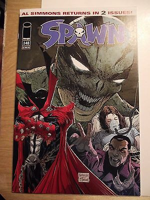 Spawn #248 low print run HTF NM