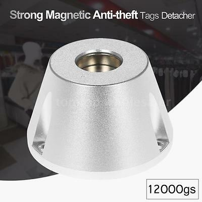 12000GS Golf Detacher EAS Security Hard Tags Remover Strong Magnetic Silver E0Q7