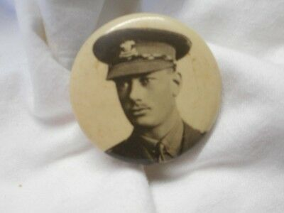 Vintage Early Prince Of Wales Military Uniform Badge