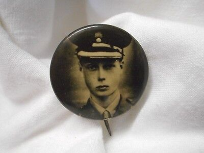 Vintage Early Prince Of Wales Military Uniform Small Badge