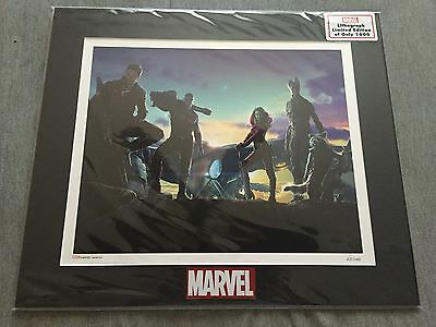 Marvel Guardians Of The Galaxy Lithograph - Limited Edition - 63/1000