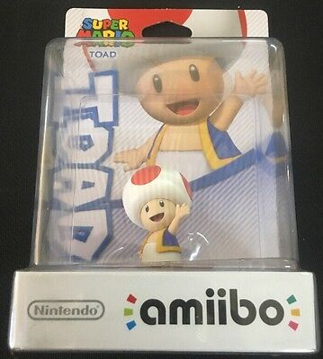 Amiibo # Toad Figure - Super Mario - Nintendo - Switch - Wii U - 3 DS - JS