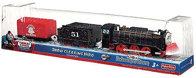 Fisher Price Thomas & Friends Trackmaster Toysrus Ex. Snow Clearing Hiro