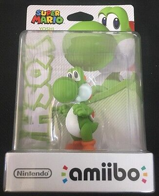 Amiibo # Yoshi Figure - Super Mario - Nintendo - Switch - Wii U - 3 DS - JS