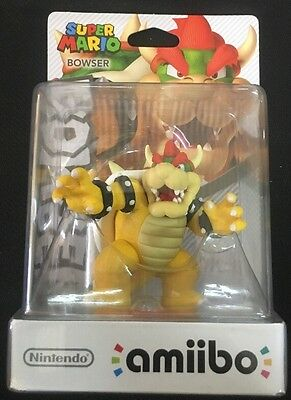 Amiibo # Bowser Figure - Super Mario - Nintendo - Switch - Wii U - 3 DS - JS