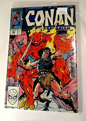 Conan The Barbarian #205 Marvel Copper age Comic CB1452