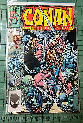 Conan The Barbarian #200 Marvel Copper Age  Lot C92