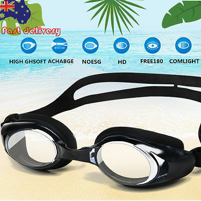 New Professional Adult Anti-fog UV Swimming Protect Goggles Glasses + 2 Ear Plug