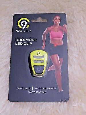 (New) C9 Champion® Duo-Mode LED Clip - Yellow