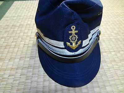 Japanese OLD Maritime Self Defense Forces hat cap medal BADGE NAVY BADGE RARE