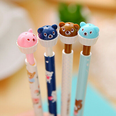 0.7mm Plastic Mechanical Pencil Small Bear Cartoon Student Activity Pencil Best