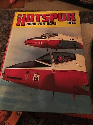 Vintage 1974 Hotspur Book for Boys Comic Book Annual