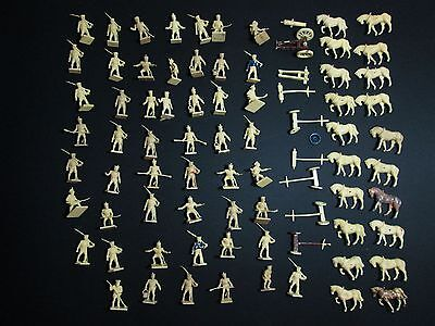 NAPOLEONIC FRENCH ARTILLERY Lot 1/72 25mm Airfix Soldiers Figures Miniatures