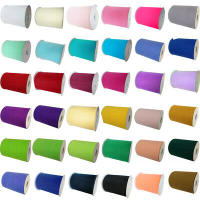 "Tutu Tulle Rolls 6"" wide 100 yards Netting Craft Fabric Soft Nylon Wedding Party"