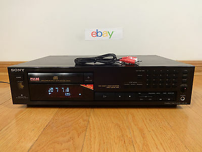 Sony CDP-591 Single CD Compact Disc Player 1991 Japan TESTED 100% Works Great!