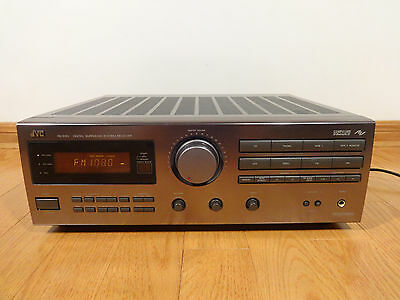 JVC RX-515V Digital Surround System Stereo Receiver PHONO 1993 TESTED 100% CLEAN