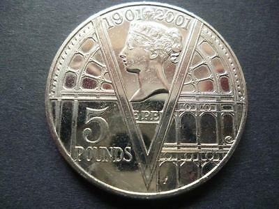 2001 £5 Coin (Crown) The Victorian Era Good Condition. 2001 Five Pounds Coin.