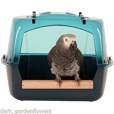 Parrot Splash Bath For Parrots Up To African Grey Amazon Size