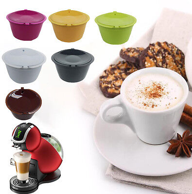 Coffee Capsules Pods K-cups Dolce Gusto Reusable Kitchen Gadget Filter