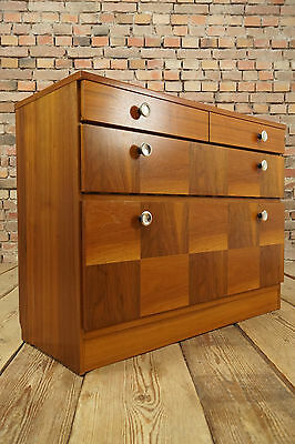 60er danish sideboard schuhschrank phono highboard for Schuhschrank 50er