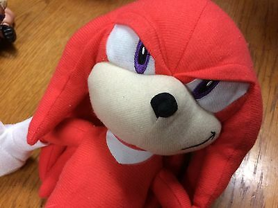 """Authentic  9"""" Knuckles Sonic the Hedgehog Plush Toy"""