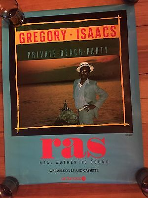 gregory isaacs promo poster