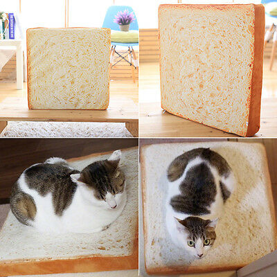 AU Toast Bread Shape Soft Pet Mat Bed Sponge Cushion Pad For Dog Cat Kennel Cozy