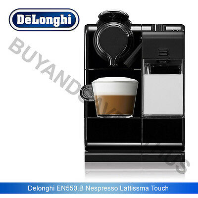 Delonghi EN550.B Nespresso Lattissma Touch Automatic Coffee Machine