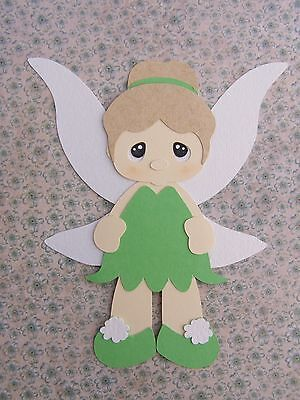 Fully assembled Tinkerbell inspired die cut