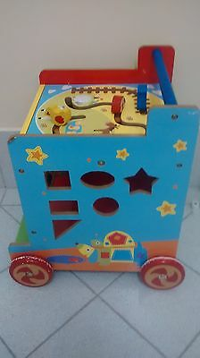 baby toddler educational activity trolley